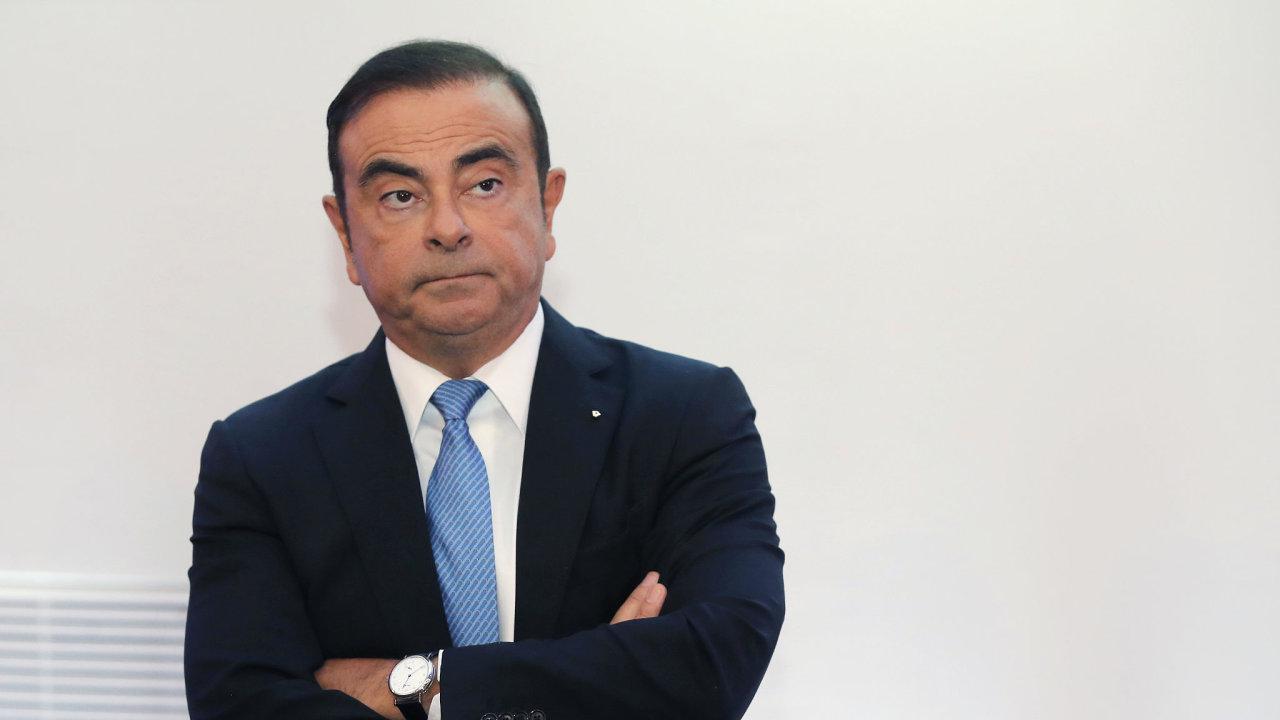Carlos Ghosn patří mezi hlavní osobnosti světového autoprůmyslu.