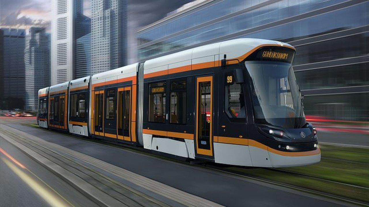 Nejmodernější české tramvaje na baterie jezdí v Turecku. Zvládnou i jízdu bez trolejí.