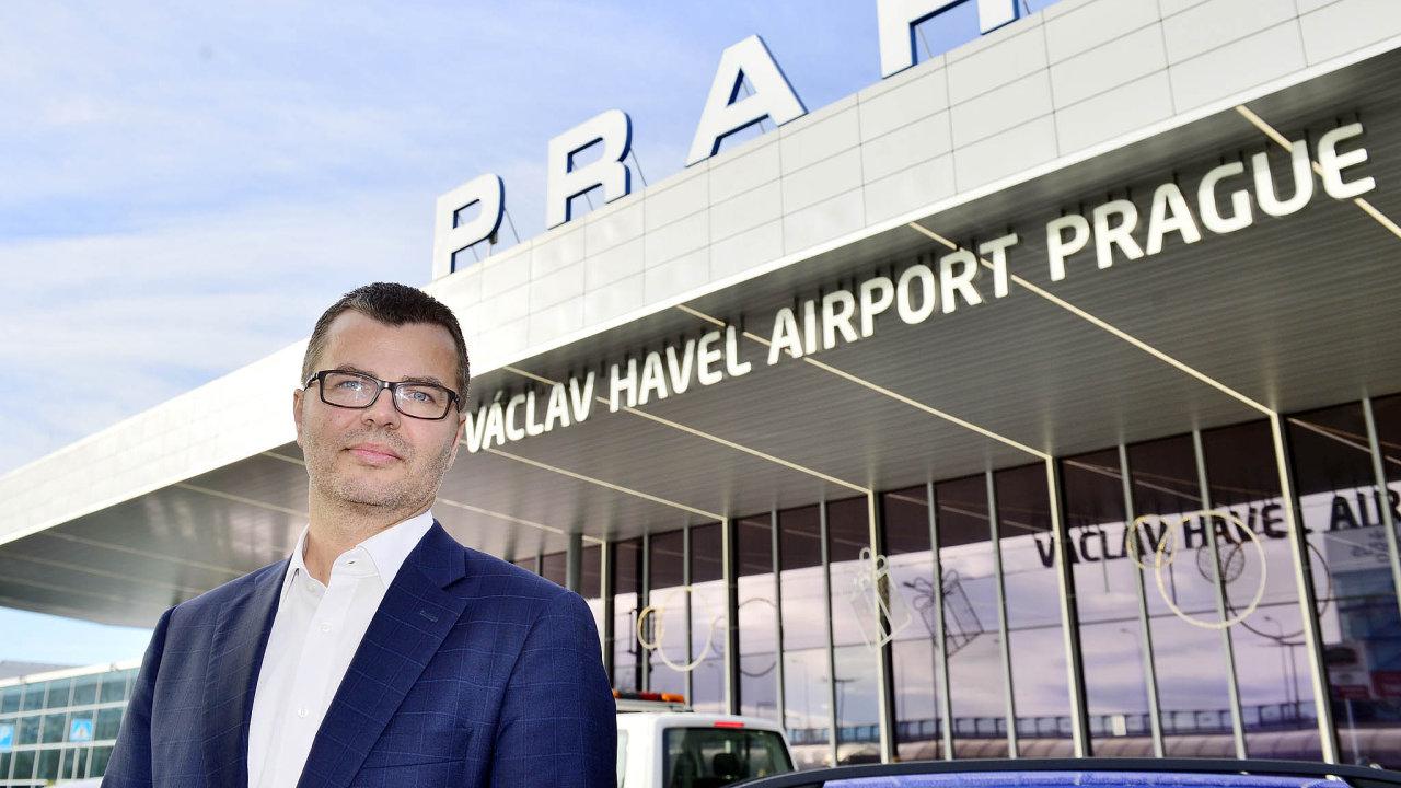 Ředitel Letiště Praha Václav Řehoř.