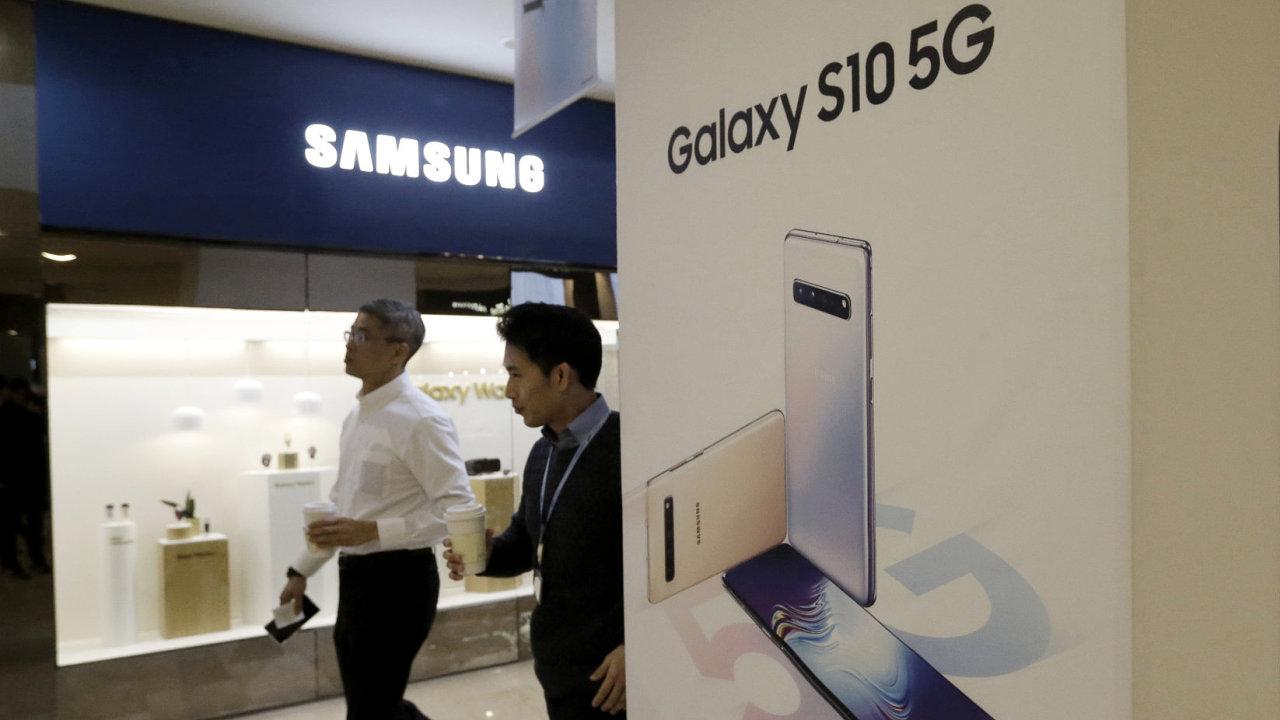 Jihokorejská společnost Samsung Electronics zřejmě za první čtvrtletí vykáže nejslabší zisk za více než dva roky.