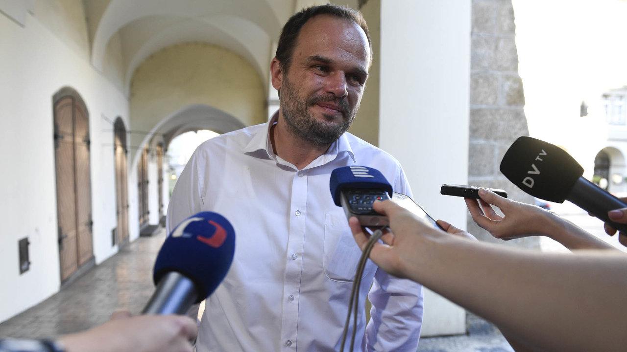 Místopředseda ČSSD Michal Šmarda je kandidátem strany na post ministra kultury. Ve vládě ho ale prezident Zeman ani premiér Babiš nechtějí.