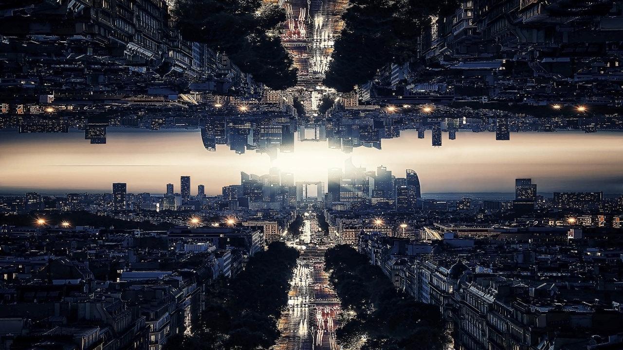 Hypotetickou zrcadlovou hmotu tvoří zrcadloví partneři nám známých částic. Mohla by být i dosud marně hledanou temnou hmotou. - Ilustrační foto