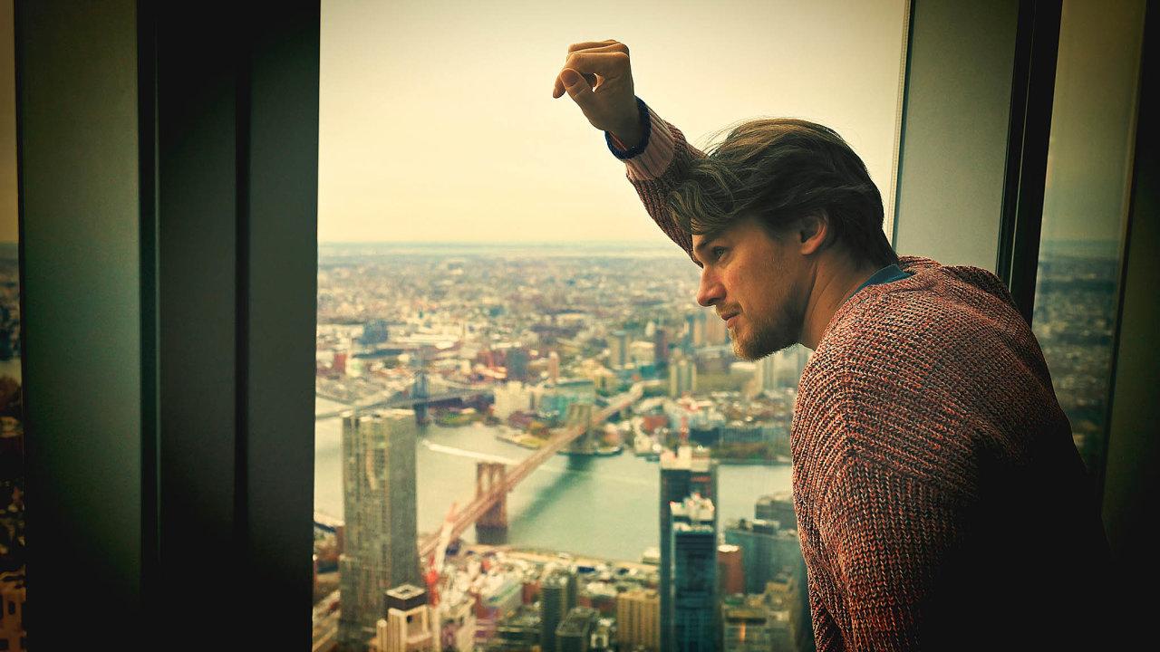Vojtěch Dyk své první sólové album natočil v New Yorku.