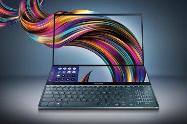 ZenBook Pro Duo je futuristický a nabízí více prostoru pro obraz, méně pro ruce.