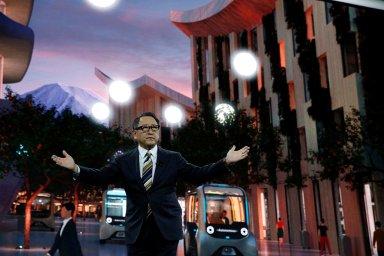 Toyota v Las Vegas představila projekt futuristického města Vowen City.