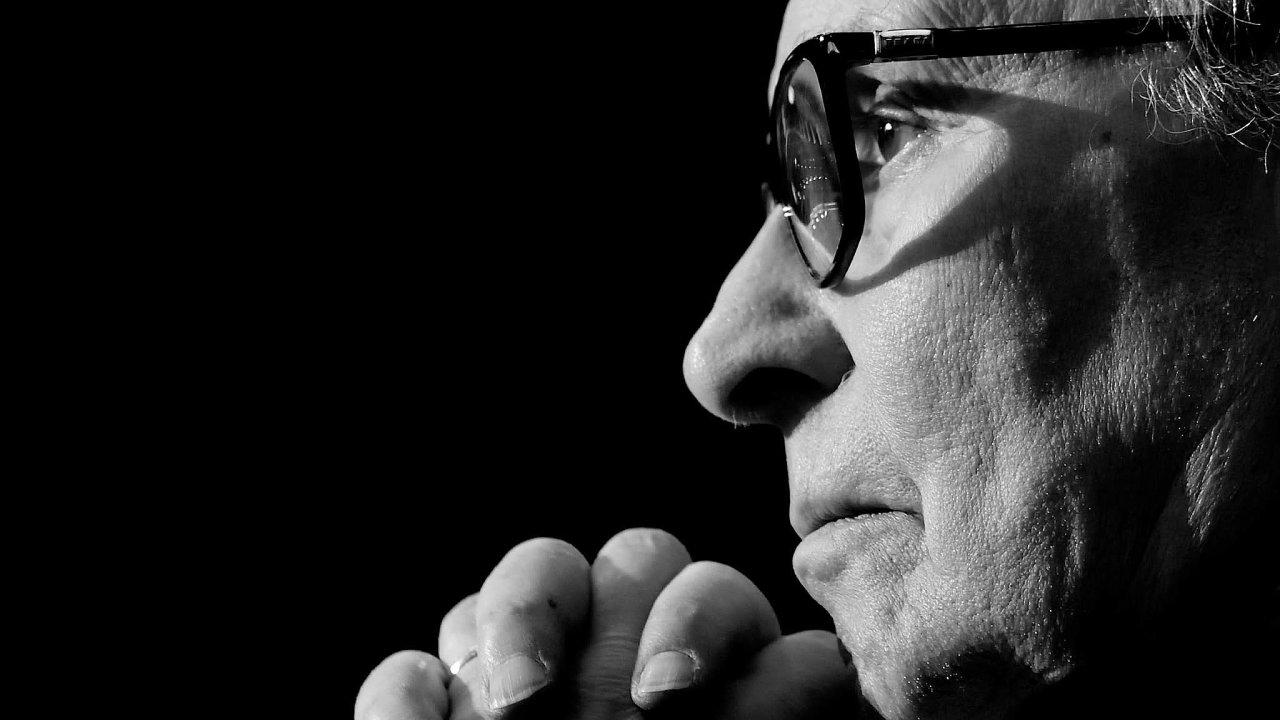 Hudební skladatel Ennio Morricone.