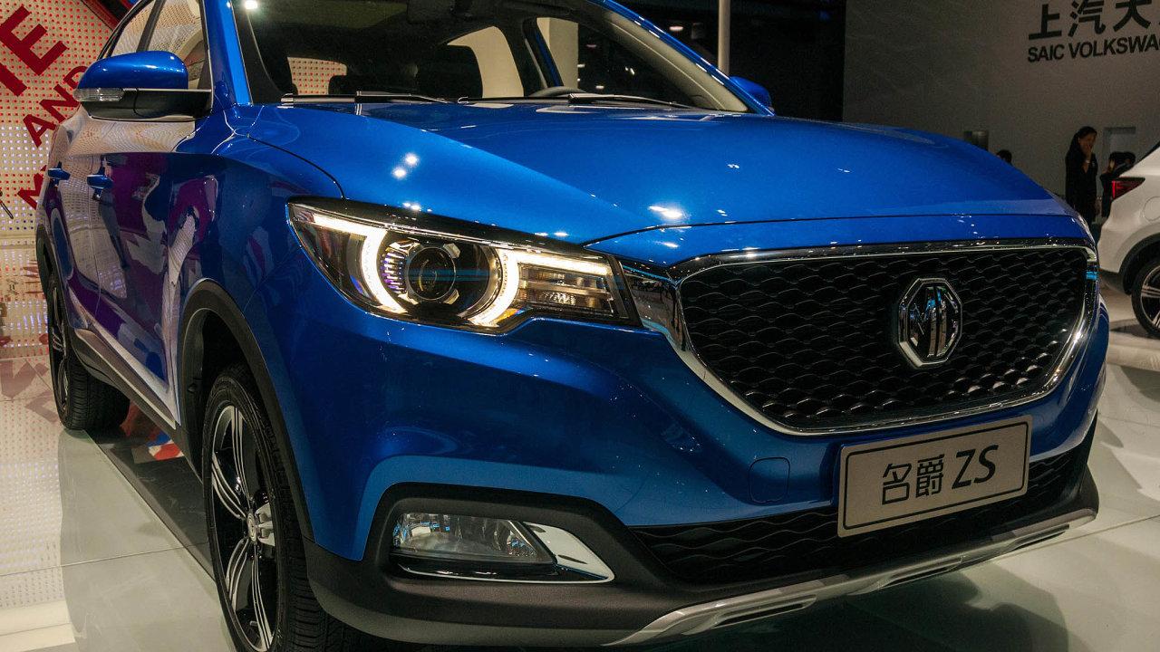Britská značka MG patří od roku 2006 čínskému gigantu SAIC Motor Corporation. V Evropě chce nabízet elektrický model MG ZS.