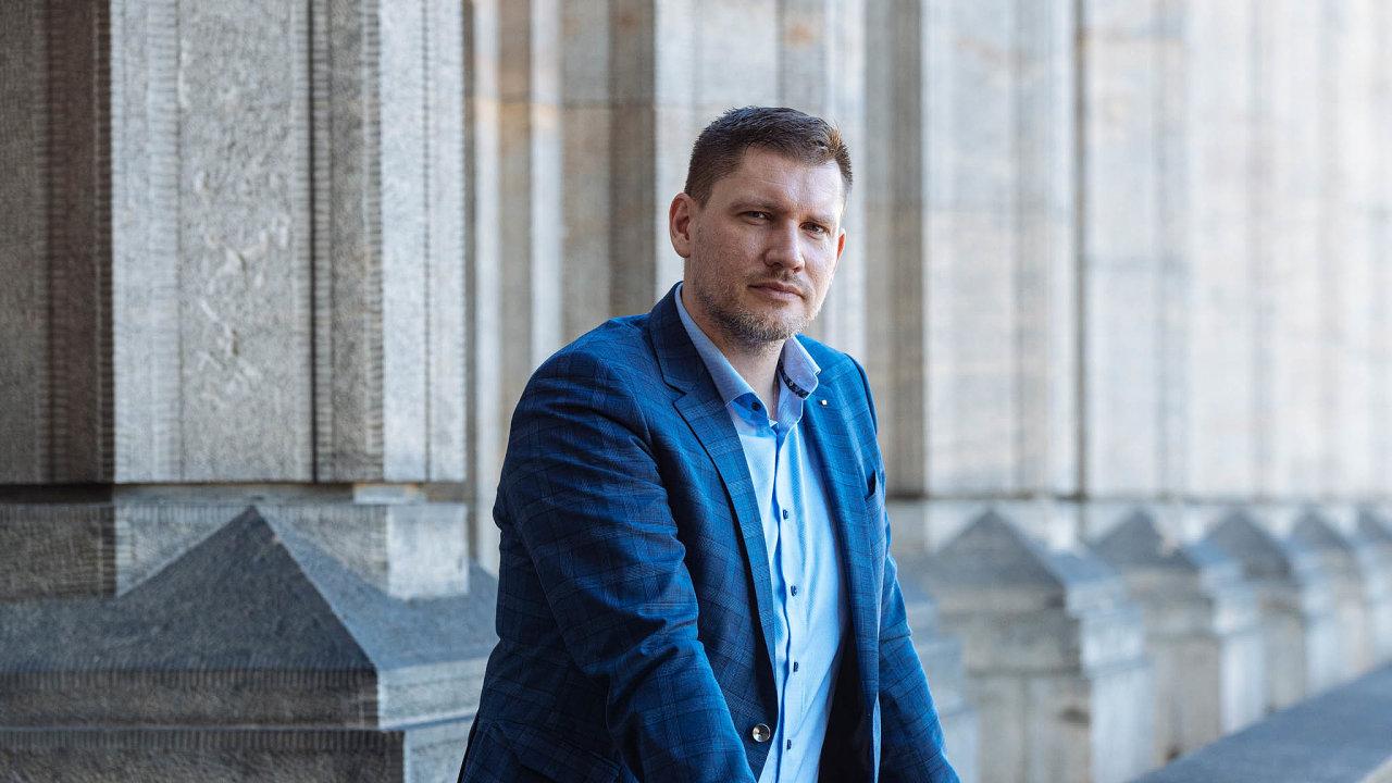 Šéf Českých drah Václav Nebeský.