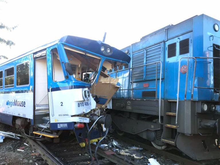 nehoda na nádraží v Kdyni na Domažlicku
