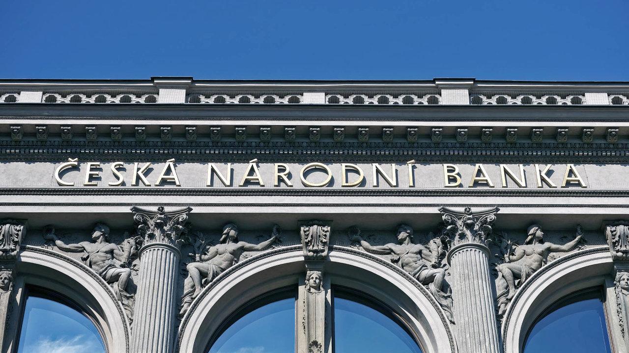 Na středu 23. září je naplánováno měnověpolitické zasedání České národní banky.
