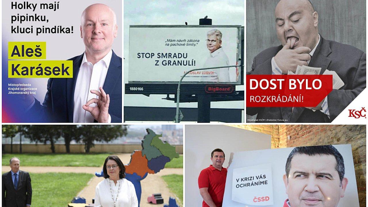 Volební kampaň 2020.