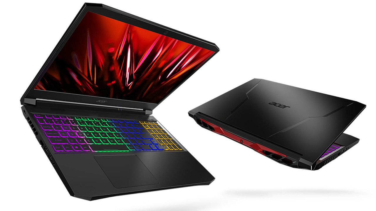 Snovou výbavou. Jedním zherních notebooků právě nastupující generace je Acer Nitro 5.