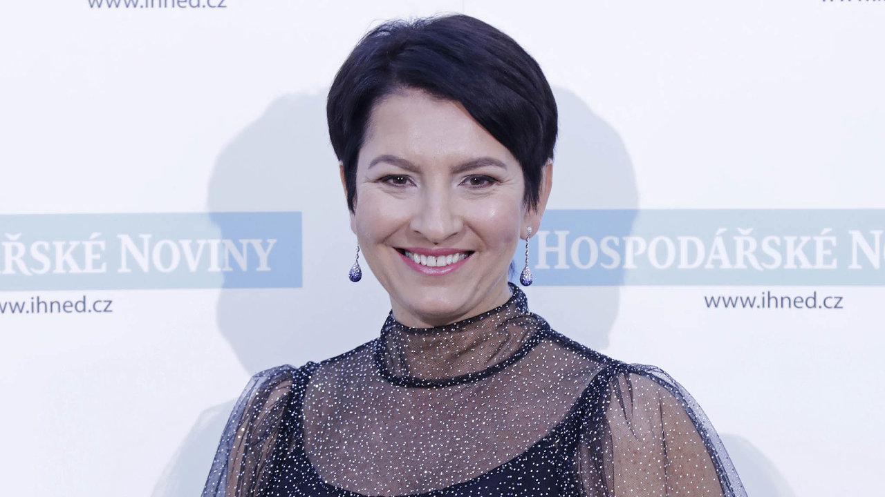 Radka Prokopová, spolumajitelka avýkonná ředitelka břeclavské společnosti Alca plast