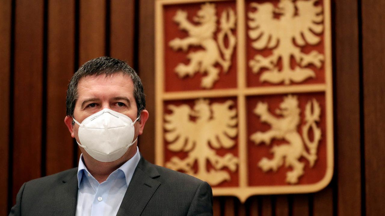 Vicepremiér, ministr vnitra a předseda ČSSD Jan Hamáček