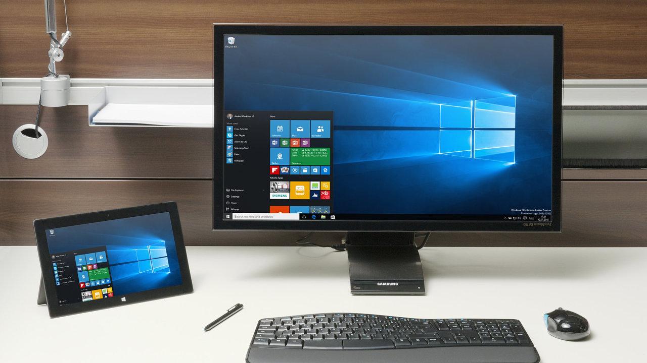 Microsoft Windows 10 Anniversary Update dolaďují nový systém od Microsoftu