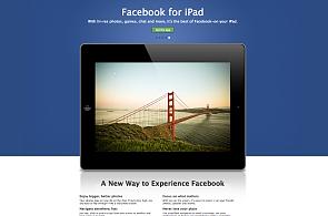 Facebook má aplikaci pro iPad, nabízí i chat a propojení s aplikacemi