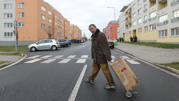 Prázdné sídliště v Kolíně, nejzaddluženějším městě v zemi