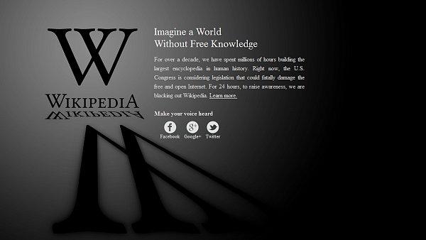 Blackout na Wikipedii