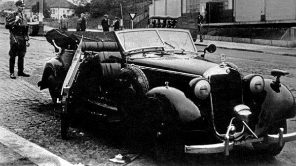 Atent�t na Heydricha, ilustra�n� foto