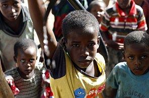 Africké děti, ilustrační foto