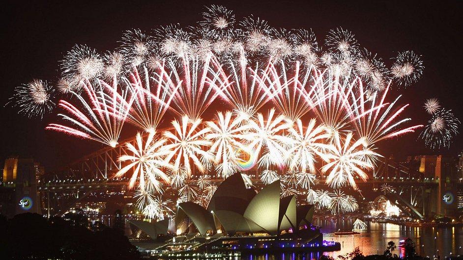 Ohňostroj v Sydney