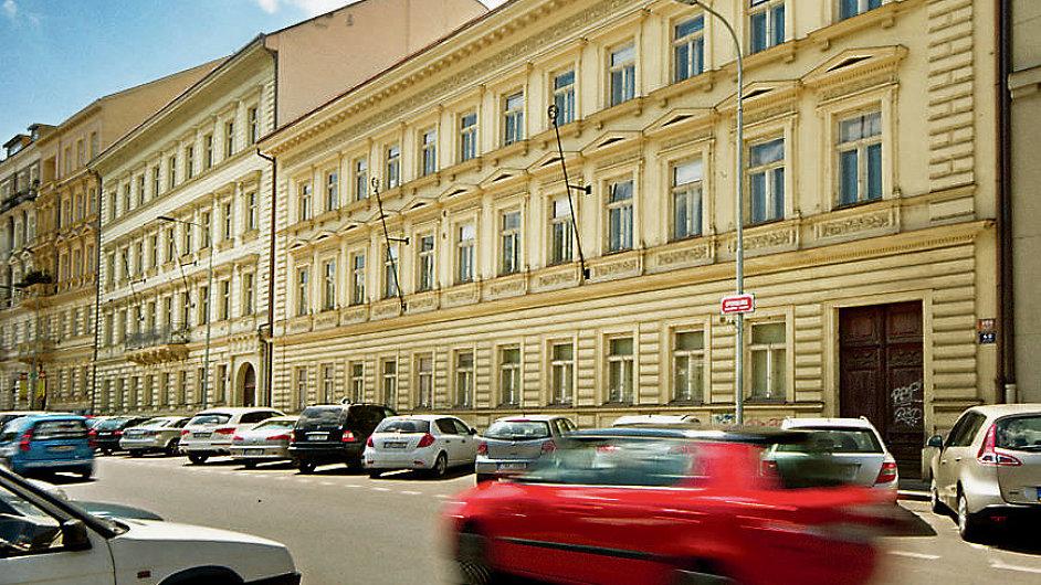 Budovy Univerzity Karlovy v pražské Opletalově ulici (ilustrační foto).