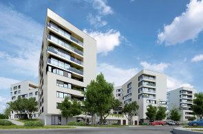 600 nových bytů postaví  na Kavčích Horách v Praze 4 společnost Central Group