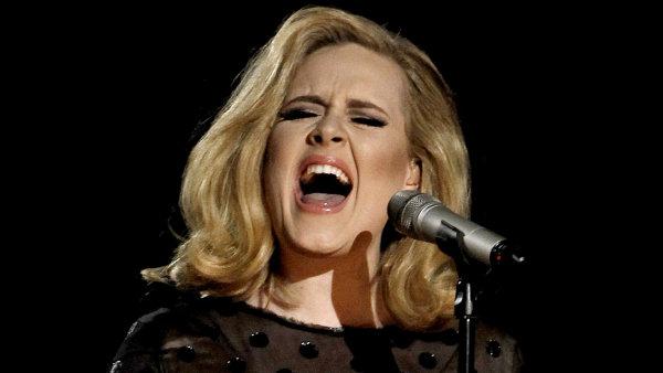 Nejúspěšnějším albem loňského roku byla deska 21 zpěvačky Adele.