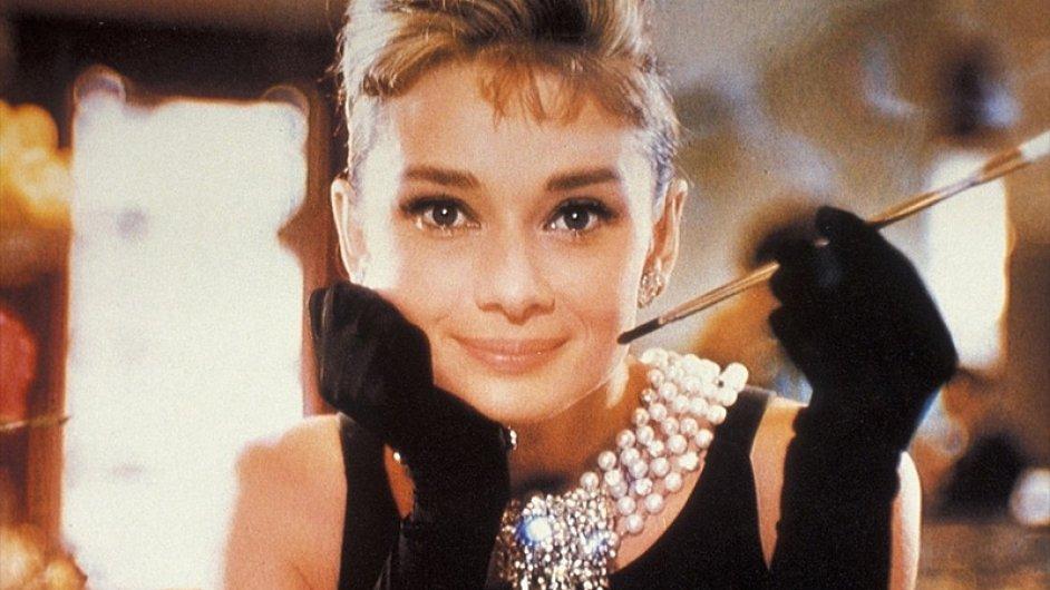 Audrey Hepburnová ve Snídani u Tiffanyho