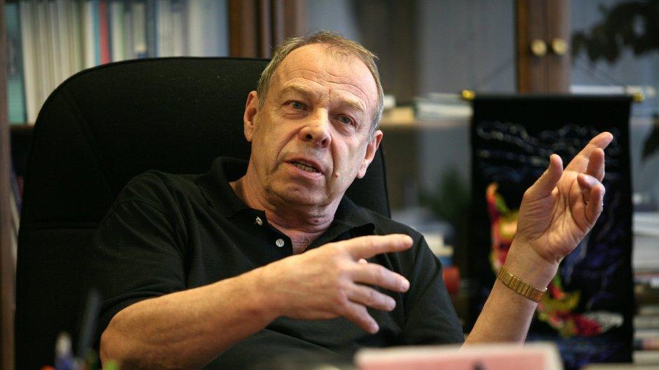 Předseda Českomoravské konfederace odborových svazů Jaroslav Zavadil.