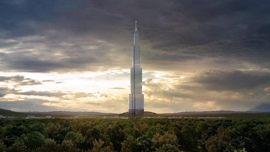 Čína chce postavit nejvyšší budovu světa