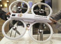 """Prototyp """"vládního dronu"""" Spojených arabských emirátů"""