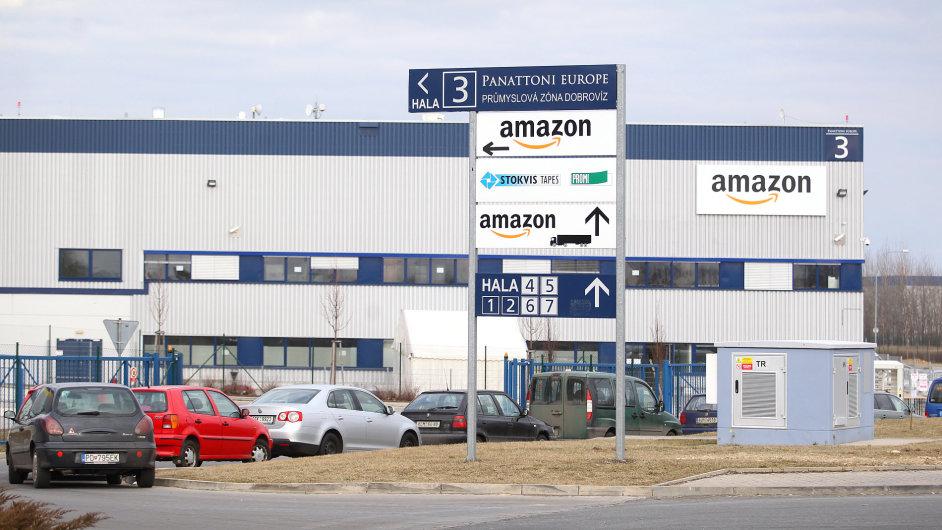 Amazon do skladů v Dobrovízi u Prahy nabírá první zaměstnance (ilustrační foto).