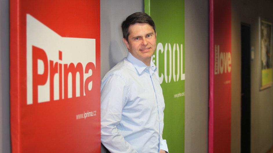 Generální ředitel FTV Prima Marek Singer.