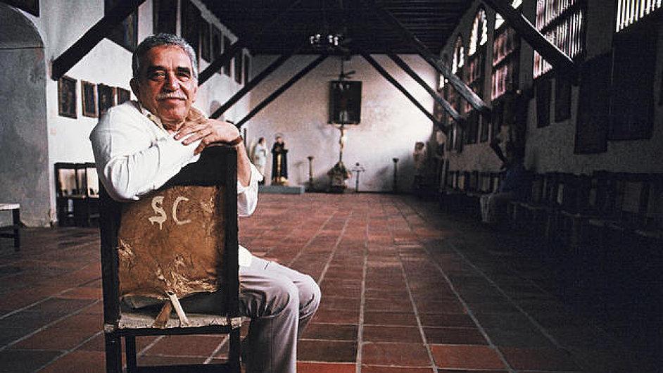 Gabriel García Márquez v jednom ze svých domů v Kolumbii