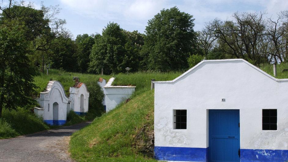 Vinařský sklípek na Moravě - ilustrační foto