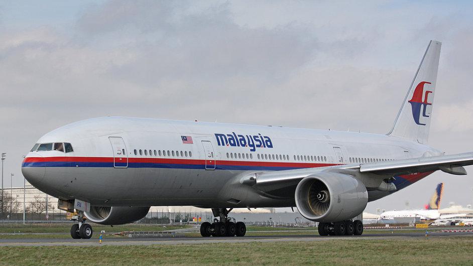 Letadlo Malaysia Airlines
