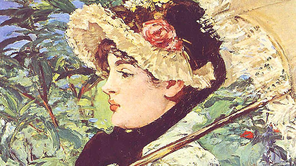 Manet svůj obraz Jaro vystavil roku 1882 na sedmé výstavě impresionistů.