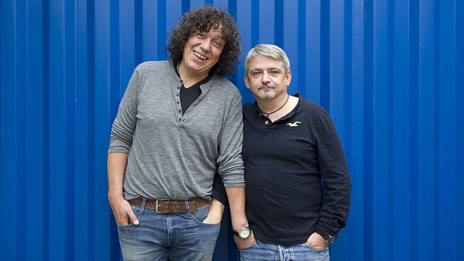 Michal Suchánek a Richard Genzer