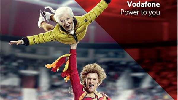 V hlavn� roli se u Vodafonu p�edstav� Tom� Verner.