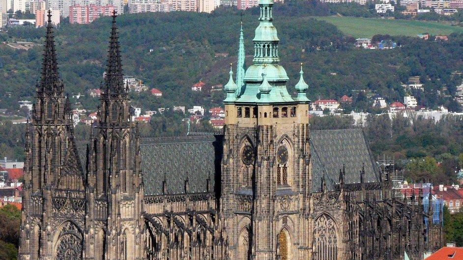 Pražská katedrála sv. Víta