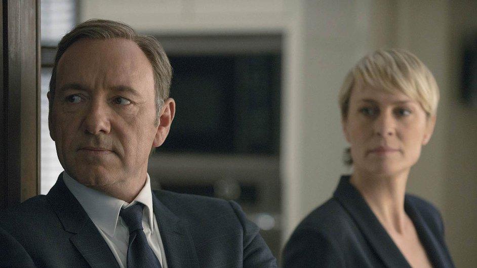 Koncem února se začne streamovat třetí řada seriálu House of Cards.