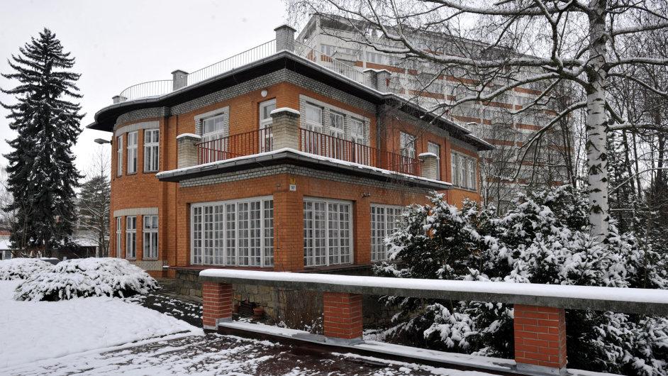 Vila Jana Antonína Bati v centru Zlína.