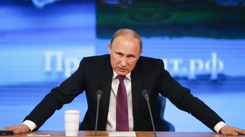 Vladimir Putin (ilustrační foto)