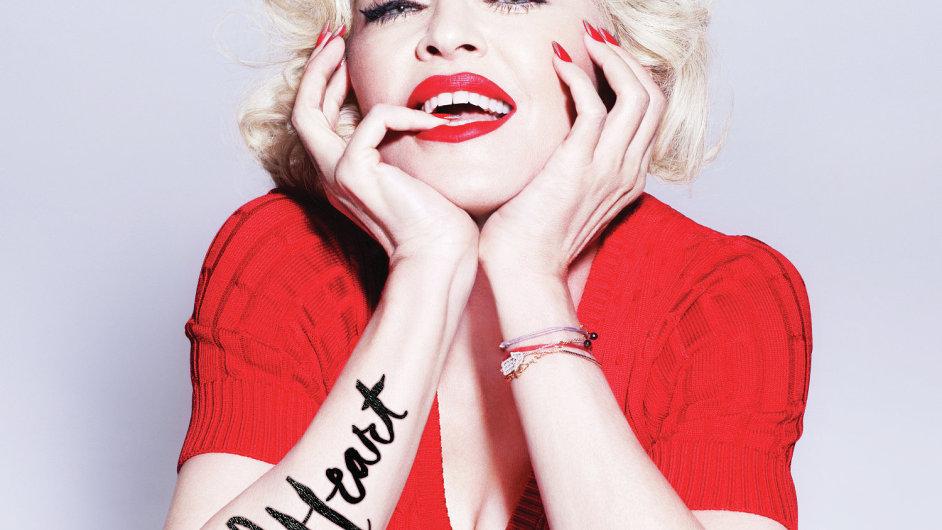 Obal desky Rebel Heart, jíž Madonna vydává tento týden.