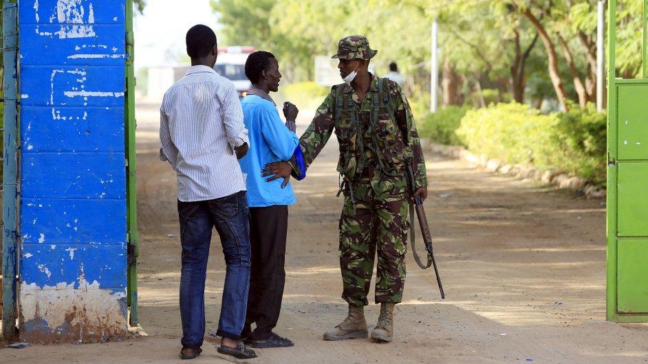 Kampus univerzity Garissa po útoku