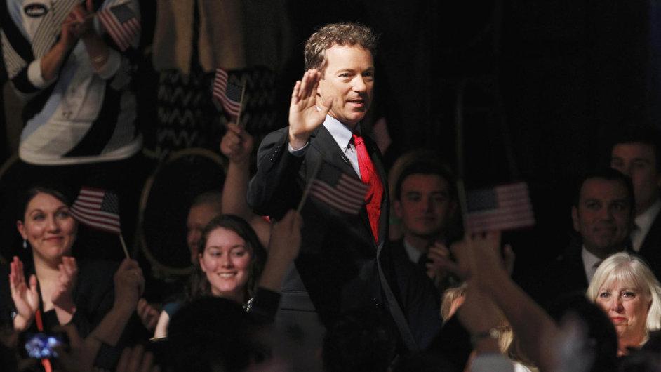 Americký senátor Rand Paul na fotce z minulého měsíce.