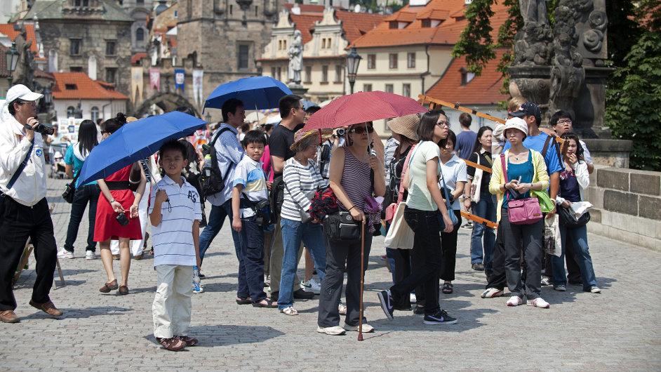 V prvních třech měsících přijelo meziročně o 40 procent více turistů z Jižní Koreje - Ilustrační foto.