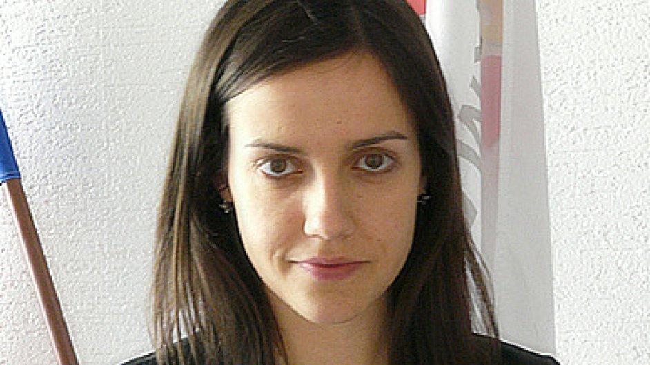 Karolína Kyselová, tisková mluvčí Hospodářské komory ČR