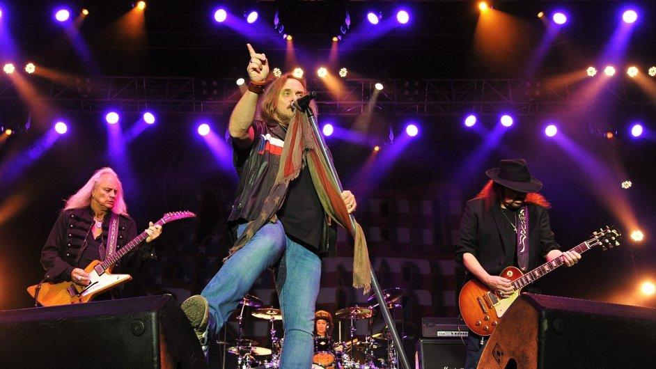 Snímky z koncertu Lynyrd Skynyrd